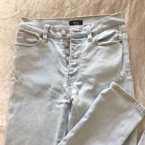 Urban outfitters BDG light wash straight leg jeans